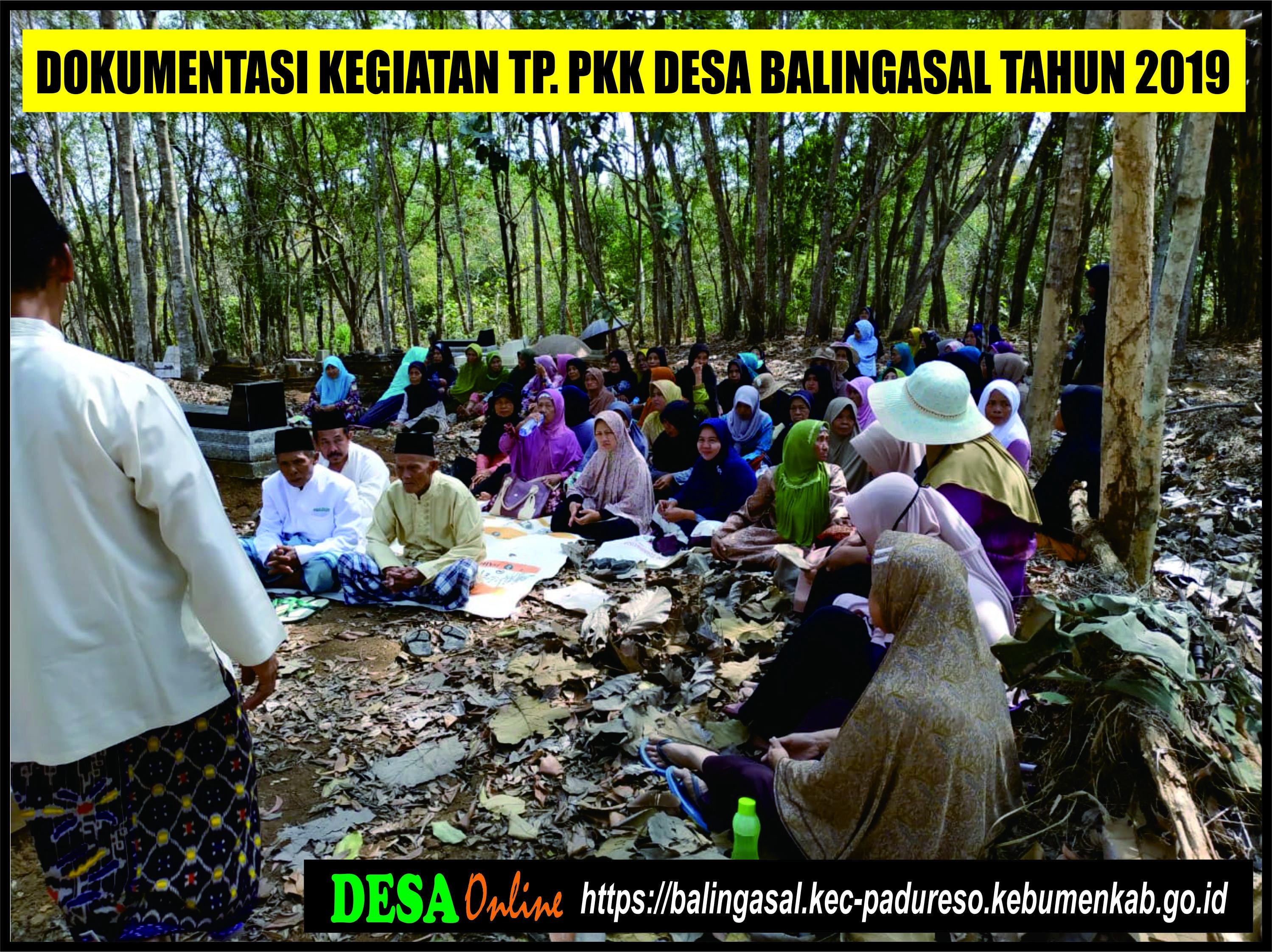 Tim Penggerak Pkk Website Resmi Desa Balingasal Kecamatan Padureso Kabupaten Kebumen